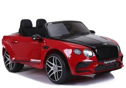 Auto na Akumulator Bentley Supersports JE1155 Czerwony