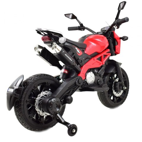 MEGA MOTOR CROSS STRONG 2 EXCLUSIVE, AMORTYZATOR, GAZ W MANETCE, HAMULEC/DLS01