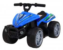 Pojazd Quad Little Monster Niebieski